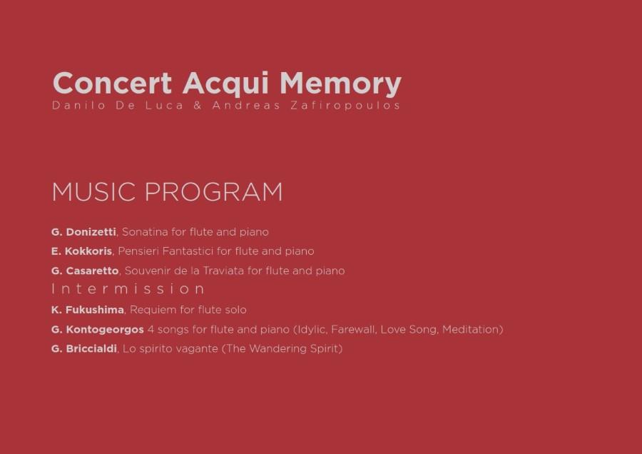 Concert Acqui Memory Poster 002