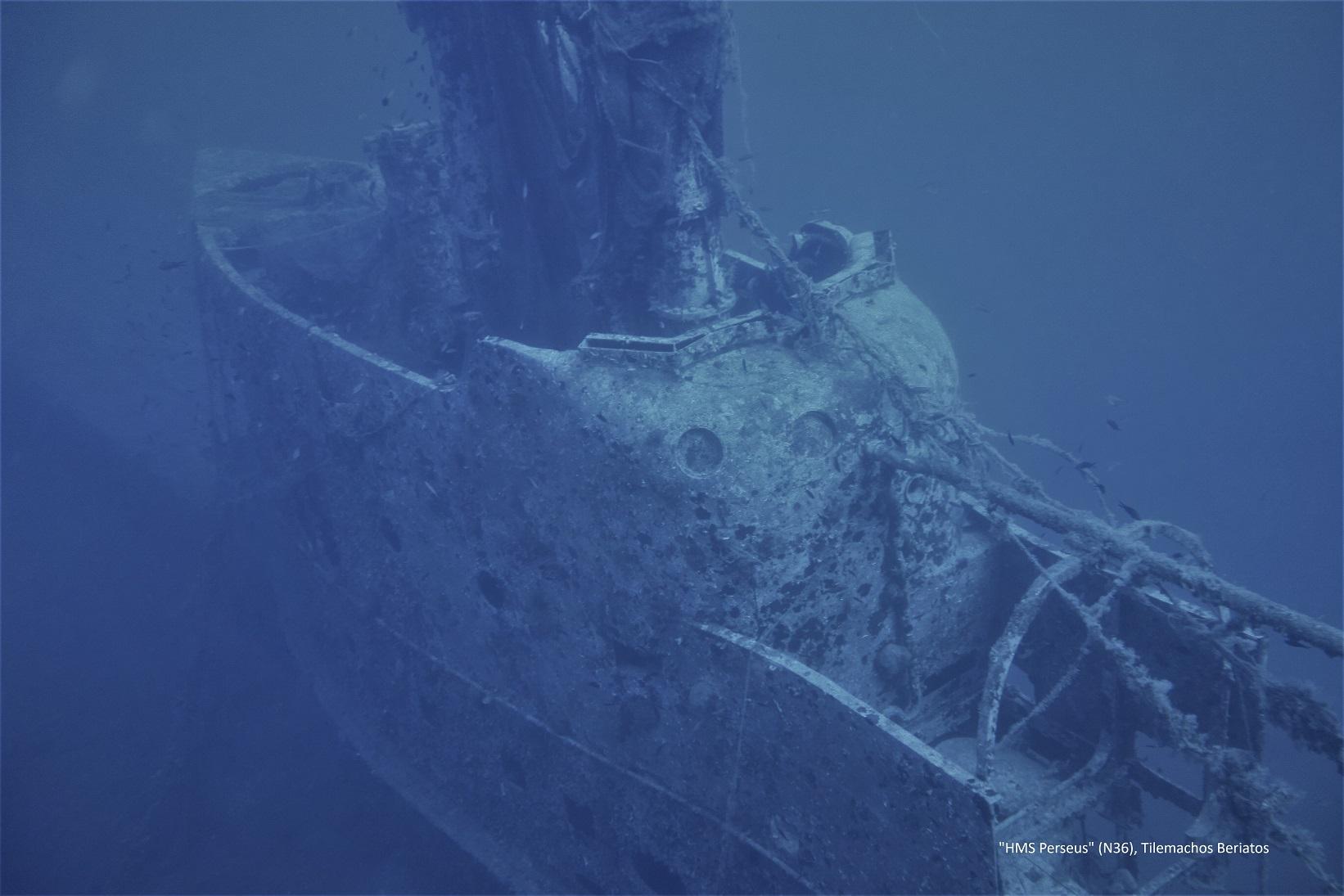 1. Υποβρύχιο HMS Perseus Κεφαλονιά φωτο Τ.Μπεριάτος 2019