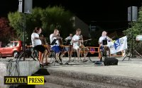 H εκδήλωση Κλασικής Μουσικής στην πλαζ της Σάμης (video)