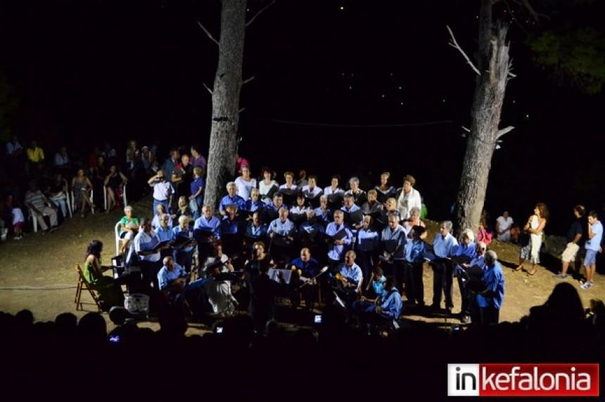 Μια μαγική βραδιά υπό το φως της Πανσελήνου στο Κάστρο (εικόνες+video)