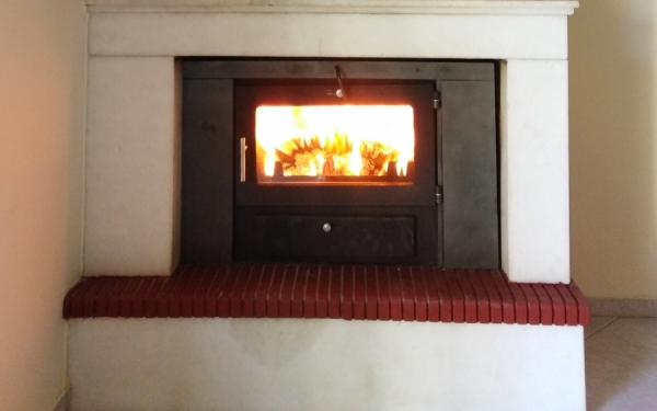 Turn your fireplace into an energy one -  Visit the fireplace center Filippatos