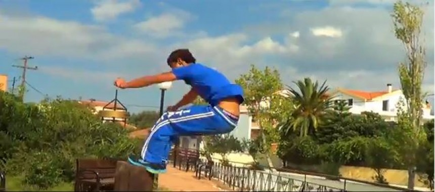 Parkour in Kefalonia (P.I.K) Is back! (video)