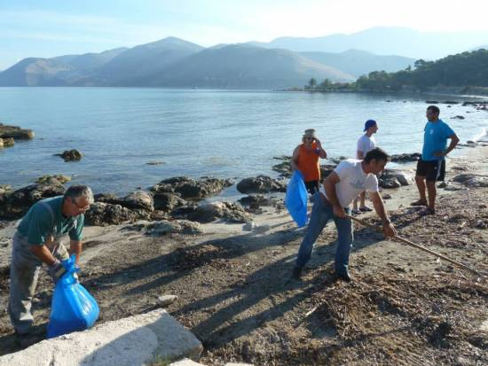 Beach Clean-up Argostoli