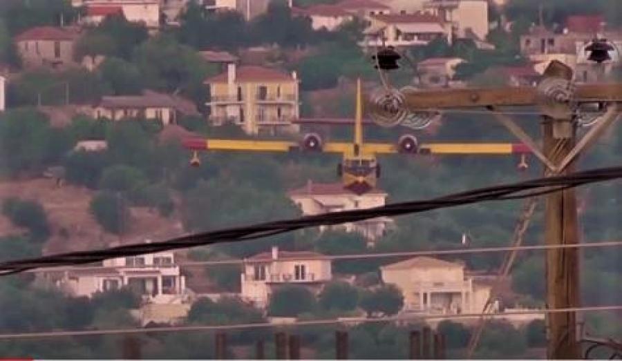 Συγκλονιστικό βίντεο από τις προσπάθειες των Πυροσβεστών της Κεφαλονιάς