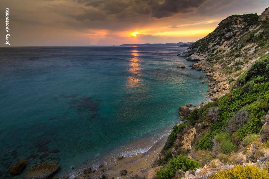 Στην Παραλία Κορώνη με την υπέροχη θέα