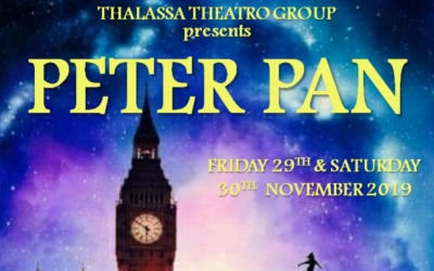 The Thalassa Theatro Group are proud to announce Peter Pan