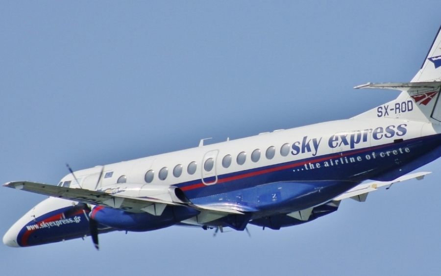 Fly with Sky Express: Flights to Cephalonia are on the rise