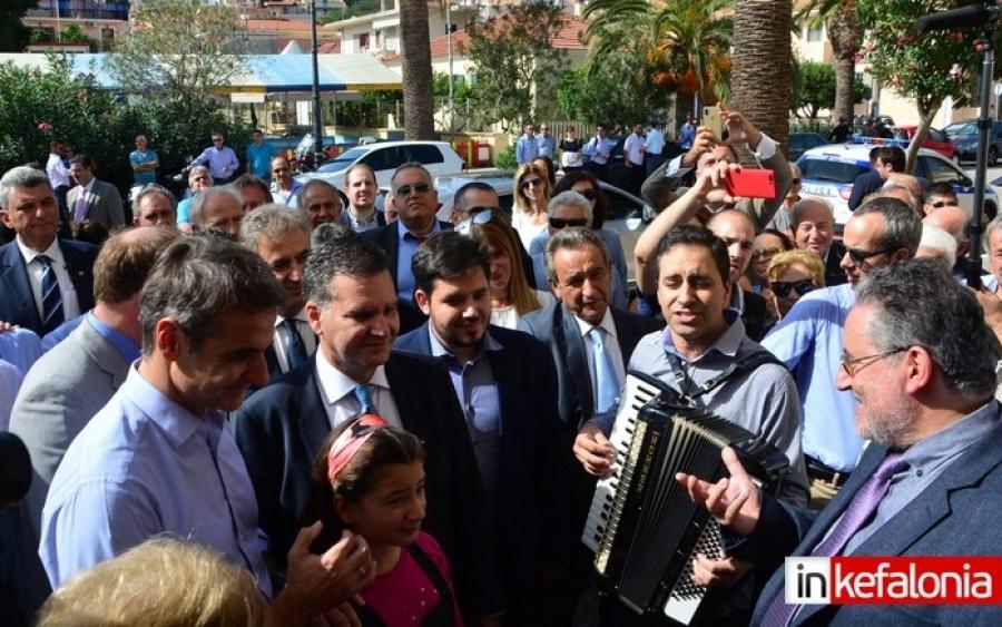 Από το Μέγαρο ο Μητσοτάκης ανακοίνωσε την Ρόδη Κράτσα ως υποψήφια Περιφερειάρχη Ιονίων Νήσων (εικόνες)